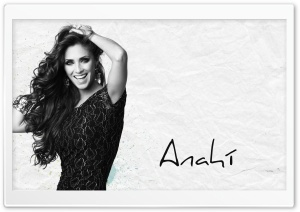Anahi Black and White HD Wide Wallpaper for Widescreen