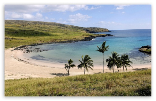 Anakena Beach Anakena Easter Island Chile HD wallpaper for Wide 16:10 5:3 Widescreen WHXGA WQXGA WUXGA WXGA WGA ; HD 16:9 High Definition WQHD QWXGA 1080p 900p 720p QHD nHD ; Standard 4:3 5:4 3:2 Fullscreen UXGA XGA SVGA QSXGA SXGA DVGA HVGA HQVGA devices ( Apple PowerBook G4 iPhone 4 3G 3GS iPod Touch ) ; Tablet 1:1 ; iPad 1/2/Mini ; Mobile 4:3 5:3 3:2 16:9 5:4 - UXGA XGA SVGA WGA DVGA HVGA HQVGA devices ( Apple PowerBook G4 iPhone 4 3G 3GS iPod Touch ) WQHD QWXGA 1080p 900p 720p QHD nHD QSXGA SXGA ;