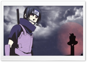 Anbu Itachi Uchiha HD Wide Wallpaper for Widescreen