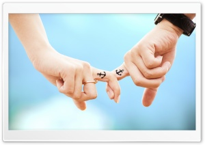 Anchor Couple Tattoos HD Wide Wallpaper for Widescreen