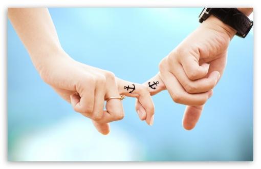 Anchor Couple Tattoos Ultra Hd Desktop Background Wallpaper