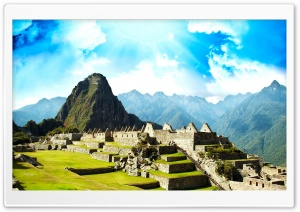 Ancient City Of Machu Picchu HD Wide Wallpaper for Widescreen
