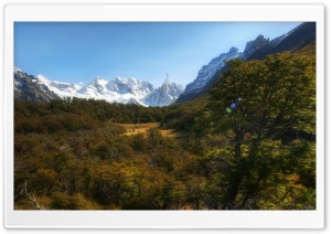 Andes Mountains, Patagonia, Argentina HD Wide Wallpaper for Widescreen