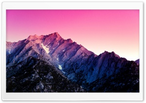Android 4.4 Mountains HD Wide Wallpaper for Widescreen