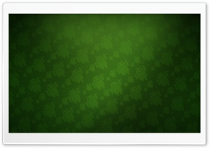 Android Green Background HD Wide Wallpaper for Widescreen