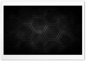 Android Hex HD Wide Wallpaper for Widescreen