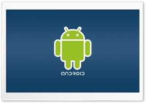 Android Logo HD Wide Wallpaper for Widescreen