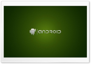 Android Logo Green HD Wide Wallpaper for Widescreen