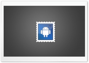 Android Postage Stamp HD Wide Wallpaper for Widescreen