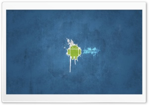 Android Splash HD Wide Wallpaper for Widescreen