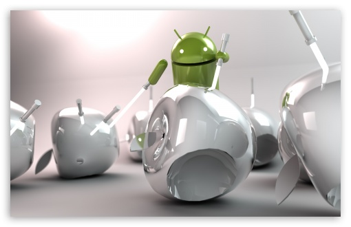 Android vs Apple HD wallpaper for Wide 16:10 5:3 Widescreen WHXGA WQXGA WUXGA WXGA WGA ; HD 16:9 High Definition WQHD QWXGA 1080p 900p 720p QHD nHD ; Other 3:2 DVGA HVGA HQVGA devices ( Apple PowerBook G4 iPhone 4 3G 3GS iPod Touch ) ; Mobile WVGA iPhone PSP - WVGA WQVGA Smartphone ( HTC Samsung Sony Ericsson LG Vertu MIO ) HVGA Smartphone ( Apple iPhone iPod BlackBerry HTC Samsung Nokia ) Sony PSP Zune HD Zen ;