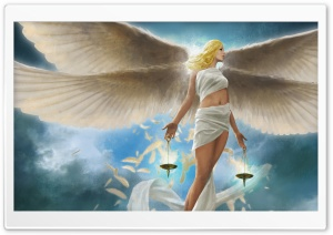 Angel HD Wide Wallpaper for 4K UHD Widescreen desktop & smartphone