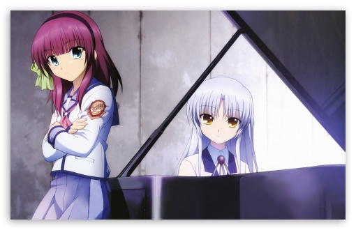 Angel Beats - Yuri And Angel HD wallpaper for Wide 16:10 5:3 Widescreen WHXGA WQXGA WUXGA WXGA WGA ; HD 16:9 High Definition WQHD QWXGA 1080p 900p 720p QHD nHD ; Standard 4:3 5:4 3:2 Fullscreen UXGA XGA SVGA QSXGA SXGA DVGA HVGA HQVGA devices ( Apple PowerBook G4 iPhone 4 3G 3GS iPod Touch ) ; Tablet 1:1 ; iPad 1/2/Mini ; Mobile 4:3 5:3 3:2 16:9 5:4 - UXGA XGA SVGA WGA DVGA HVGA HQVGA devices ( Apple PowerBook G4 iPhone 4 3G 3GS iPod Touch ) WQHD QWXGA 1080p 900p 720p QHD nHD QSXGA SXGA ;