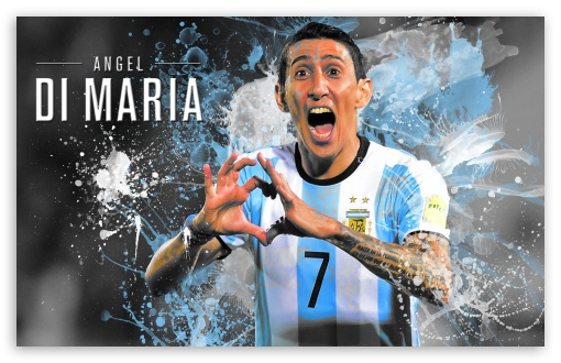 Angel Di Maria Argentina - 2016 ❤ 4K UHD Wallpaper for Wide 16:10 5:3 Widescreen WHXGA WQXGA WUXGA WXGA WGA ; 4K UHD 16:9 Ultra High Definition 2160p 1440p 1080p 900p 720p ; UHD 16:9 2160p 1440p 1080p 900p 720p ; Mobile 5:3 16:9 - WGA 2160p 1440p 1080p 900p 720p ;