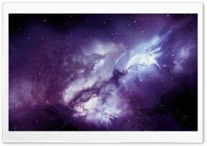 Angel Galaxy HD Wide Wallpaper for Widescreen