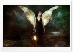 Angel Of The Night HD Wide Wallpaper for Widescreen