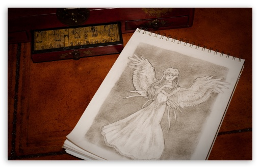 Angel Sketch HD wallpaper for Wide 16:10 5:3 Widescreen WHXGA WQXGA WUXGA WXGA WGA ; HD 16:9 High Definition WQHD QWXGA 1080p 900p 720p QHD nHD ; Standard 4:3 5:4 3:2 Fullscreen UXGA XGA SVGA QSXGA SXGA DVGA HVGA HQVGA devices ( Apple PowerBook G4 iPhone 4 3G 3GS iPod Touch ) ; Tablet 1:1 ; iPad 1/2/Mini ; Mobile 4:3 5:3 3:2 16:9 5:4 - UXGA XGA SVGA WGA DVGA HVGA HQVGA devices ( Apple PowerBook G4 iPhone 4 3G 3GS iPod Touch ) WQHD QWXGA 1080p 900p 720p QHD nHD QSXGA SXGA ;