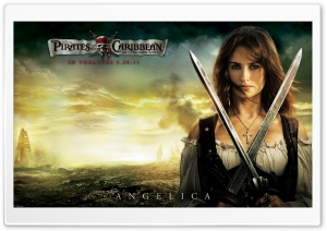 Angelica - 2011 Pirates Of The Caribbean On Stranger Tides HD Wide Wallpaper for Widescreen