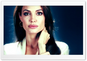 Angelina Jolie New HD Wide Wallpaper for Widescreen