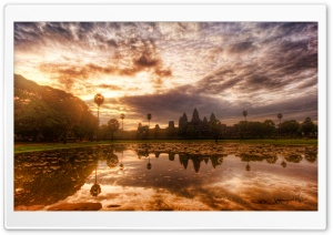 Angkor Wat Cambodia HD Wide Wallpaper for Widescreen