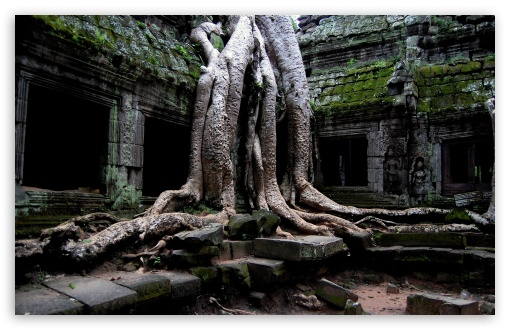 Angkor Wat Temple Cambodia 4k Hd Desktop Wallpaper For