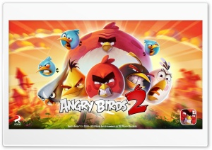 Angry Birds 2 The Flock HD Wide Wallpaper for 4K UHD Widescreen desktop & smartphone