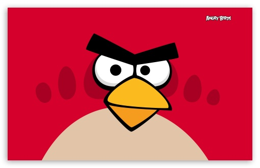 Angry Birds - Red Bird HD wallpaper for Wide 16:10 5:3 Widescreen WHXGA WQXGA WUXGA WXGA WGA ; HD 16:9 High Definition WQHD QWXGA 1080p 900p 720p QHD nHD ; Standard 4:3 3:2 Fullscreen UXGA XGA SVGA DVGA HVGA HQVGA devices ( Apple PowerBook G4 iPhone 4 3G 3GS iPod Touch ) ; iPad 1/2/Mini ; Mobile 4:3 5:3 3:2 16:9 - UXGA XGA SVGA WGA DVGA HVGA HQVGA devices ( Apple PowerBook G4 iPhone 4 3G 3GS iPod Touch ) WQHD QWXGA 1080p 900p 720p QHD nHD ;
