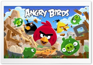 Angry Birds New Version HD Wide Wallpaper for 4K UHD Widescreen desktop & smartphone