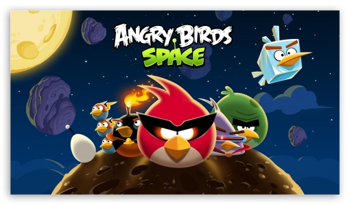 Download Angry Birds Space HD Wallpaper