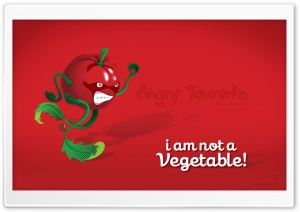Angry Tomato HD Wide Wallpaper for Widescreen