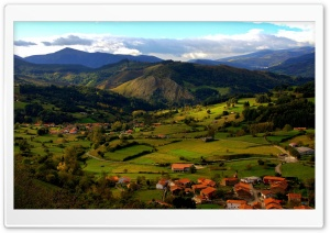 Anievas, Cantabria, Spain HD Wide Wallpaper for Widescreen