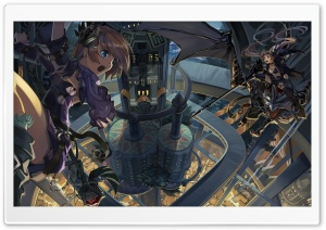 Anime Architecture HD Wide Wallpaper for Widescreen
