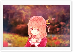 Anime Girl HD Wide Wallpaper for Widescreen