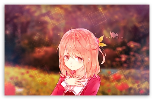 Anime Girl 4k Hd Desktop Wallpaper For Wide Ultra Widescreen