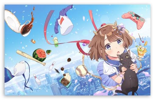 Anime, Girl, Black Cat UltraHD Wallpaper for Wide 16:10 5:3 Widescreen WHXGA WQXGA WUXGA WXGA WGA ; UltraWide 21:9 ; 8K UHD TV 16:9 Ultra High Definition 2160p 1440p 1080p 900p 720p ; Standard 4:3 5:4 3:2 Fullscreen UXGA XGA SVGA QSXGA SXGA DVGA HVGA HQVGA ( Apple PowerBook G4 iPhone 4 3G 3GS iPod Touch ) ; Smartphone 16:9 3:2 5:3 2160p 1440p 1080p 900p 720p DVGA HVGA HQVGA ( Apple PowerBook G4 iPhone 4 3G 3GS iPod Touch ) WGA ; Tablet 1:1 ; iPad 1/2/Mini ; Mobile 4:3 5:3 3:2 16:9 5:4 - UXGA XGA SVGA WGA DVGA HVGA HQVGA ( Apple PowerBook G4 iPhone 4 3G 3GS iPod Touch ) 2160p 1440p 1080p 900p 720p QSXGA SXGA ;