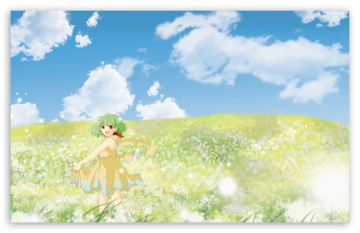 Anime Girl In Flower Field HD wallpaper for Wide 16:10 5:3 Widescreen WHXGA WQXGA WUXGA WXGA WGA ; HD 16:9 High Definition WQHD QWXGA 1080p 900p 720p QHD nHD ; Standard 4:3 5:4 3:2 Fullscreen UXGA XGA SVGA QSXGA SXGA DVGA HVGA HQVGA devices ( Apple PowerBook G4 iPhone 4 3G 3GS iPod Touch ) ; Tablet 1:1 ; iPad 1/2/Mini ; Mobile 4:3 5:3 3:2 16:9 5:4 - UXGA XGA SVGA WGA DVGA HVGA HQVGA devices ( Apple PowerBook G4 iPhone 4 3G 3GS iPod Touch ) WQHD QWXGA 1080p 900p 720p QHD nHD QSXGA SXGA ;