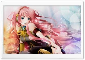 Anime Girl Listening To Music Ultra HD Wallpaper for 4K UHD Widescreen desktop, tablet & smartphone