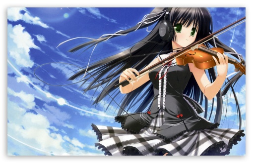 Anime Girl Playing Violin HD wallpaper for Wide 16:10 5:3 Widescreen WHXGA WQXGA WUXGA WXGA WGA ; HD 16:9 High Definition WQHD QWXGA 1080p 900p 720p QHD nHD ; Standard 4:3 5:4 3:2 Fullscreen UXGA XGA SVGA QSXGA SXGA DVGA HVGA HQVGA devices ( Apple PowerBook G4 iPhone 4 3G 3GS iPod Touch ) ; Tablet 1:1 ; iPad 1/2/Mini ; Mobile 4:3 5:3 3:2 16:9 5:4 - UXGA XGA SVGA WGA DVGA HVGA HQVGA devices ( Apple PowerBook G4 iPhone 4 3G 3GS iPod Touch ) WQHD QWXGA 1080p 900p 720p QHD nHD QSXGA SXGA ;
