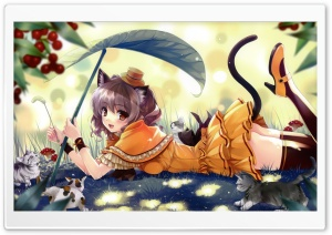 Anime Kittens HD Wide Wallpaper for Widescreen