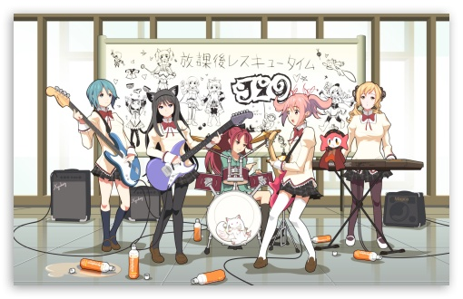 Anime Music Band HD wallpaper for Wide 16:10 5:3 Widescreen WHXGA WQXGA WUXGA WXGA WGA ; HD 16:9 High Definition WQHD QWXGA 1080p 900p 720p QHD nHD ; Standard 4:3 5:4 3:2 Fullscreen UXGA XGA SVGA QSXGA SXGA DVGA HVGA HQVGA devices ( Apple PowerBook G4 iPhone 4 3G 3GS iPod Touch ) ; iPad 1/2/Mini ; Mobile 4:3 5:3 3:2 16:9 5:4 - UXGA XGA SVGA WGA DVGA HVGA HQVGA devices ( Apple PowerBook G4 iPhone 4 3G 3GS iPod Touch ) WQHD QWXGA 1080p 900p 720p QHD nHD QSXGA SXGA ;