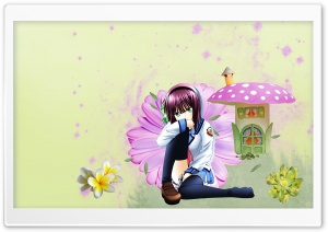 Anime Wonderland HD Wide Wallpaper for Widescreen