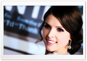 Anna Kendrick HD Wide Wallpaper for Widescreen