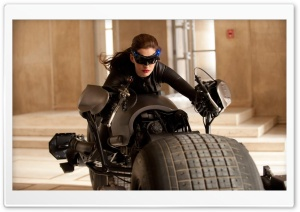 Anne Hathaway As Catwoman In The Dark Knight Rises HD Wide Wallpaper for Widescreen