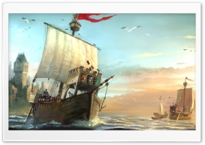 Anno 1404 HD Wide Wallpaper for Widescreen