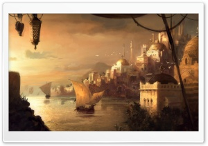 Anno 1404 Game Artwork HD Wide Wallpaper for Widescreen