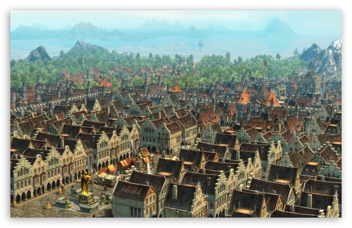 Anno 1404 Screenshots HD wallpaper for Wide 16:10 5:3 Widescreen WHXGA WQXGA WUXGA WXGA WGA ; HD 16:9 High Definition WQHD QWXGA 1080p 900p 720p QHD nHD ; Mobile WVGA PSP - WVGA WQVGA Smartphone ( HTC Samsung Sony Ericsson LG Vertu MIO ) Sony PSP Zune HD Zen ;