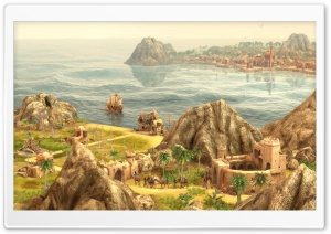 Anno 1404 Screenshots HD Wide Wallpaper for 4K UHD Widescreen desktop & smartphone
