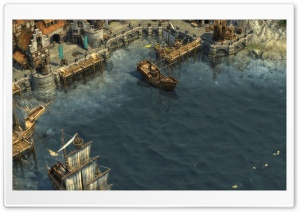 Anno 1404 Screenshots HD Wide Wallpaper for Widescreen