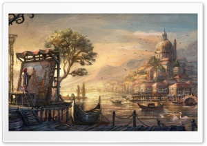 Anno 1404 Venice HD Wide Wallpaper for 4K UHD Widescreen desktop & smartphone