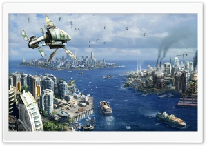 Anno 2070 HD Wide Wallpaper for Widescreen
